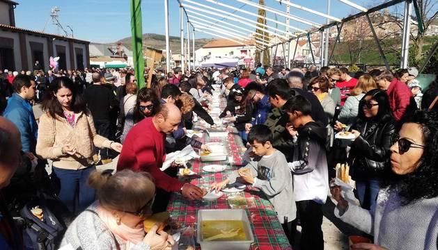 Galería de la celebración del Día de la Tostada en Arróniz