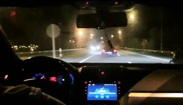 Dos conductores, investigados por participar en carreras ilegales en Pamplona