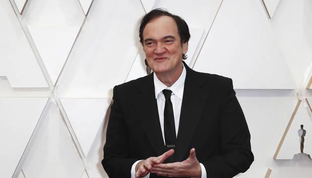 Foto de Quentin Tarantino.