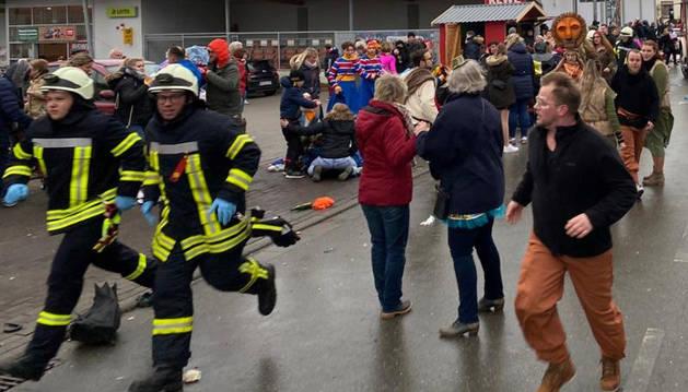 Al menos 15 heridos, varios de ellos menores, por un atropello masivo en Alemania
