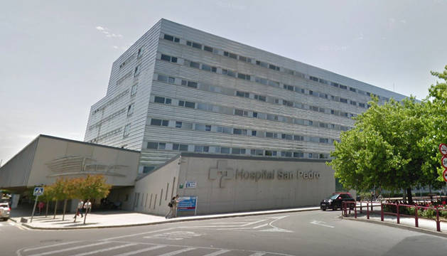 Hospital de San Pedro en Logroño.