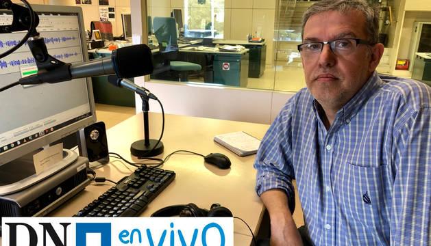 Natxo Gutiérrez, periodista de Diario de Navarra especializado en la zona Norte.