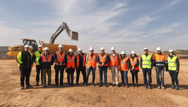 foto de Comienzo de las obras de construcción del nuevo polígono industrial de Lodosa
