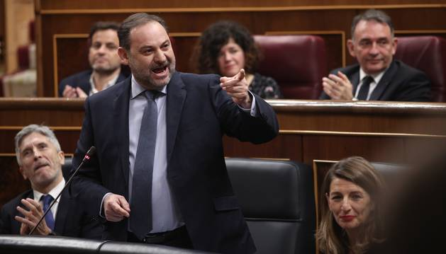 José Luis Ábalos, ministro de Transportes.