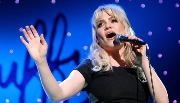 Foto de la cantante Duffy, en 2009.