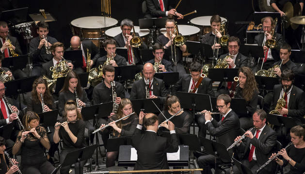 La Pamplonesa ofrecerá un nuevo concierto de la temporada. La banda actuará el domingo en el Teatro Gayarre con un programa dedicado al tango de Astor Piazzolla.
