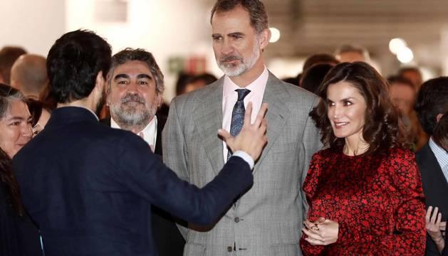 Fotos de la inauguración de la 39 edición de la Feria Internacional de Arte Contemporáneo de Madrid (ARCO)