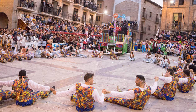 foto de La carroza 'Paz y Alcohol' que el año pasado se presentó al concurso.