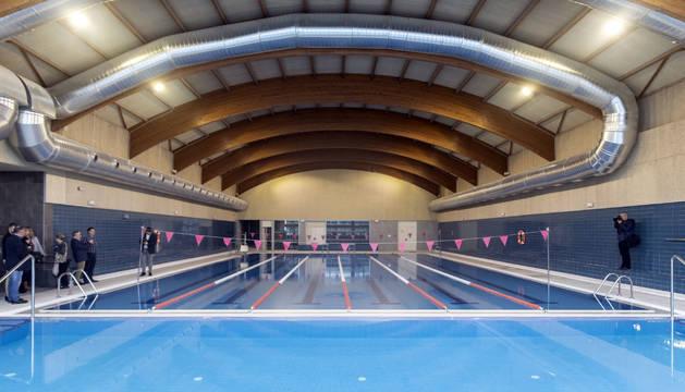 Foto del aspecto de las piscina cubierta.