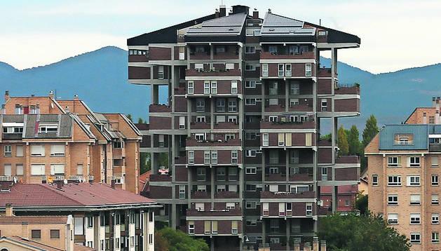 Foto de la urbanización Santa Cruz de Zizur Mayor.