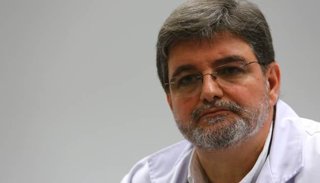 Foto de Alfredo Martínez Larrea es director gerente del Complejo Hospitalario de Navarra