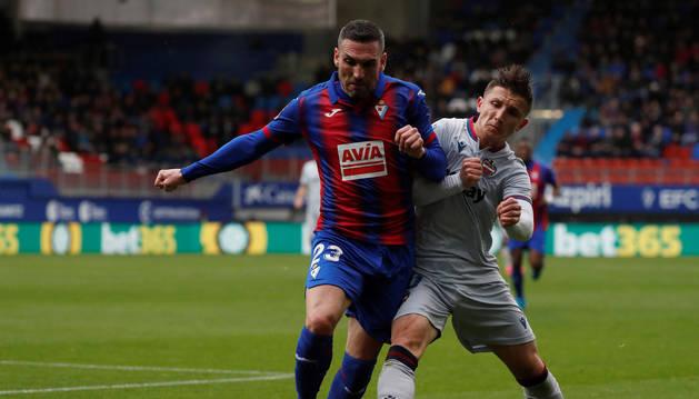 Foto de Arbilla, jugador navarro del Eibar.