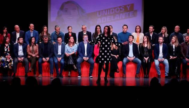 foto de La portavoz parlamentaria de Ciudadanos, Inés Arrimadas, en la presentación de la candidatura 'Unidos y Adelante' de su candidatura para liderar el partido