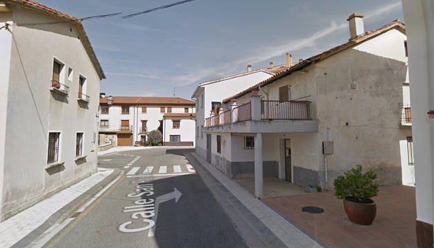 Foto de la calle San Pedro de Mutilva.