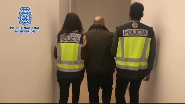 Vídeo de la detención del presunto autor de un crimen en Ciudad lineal