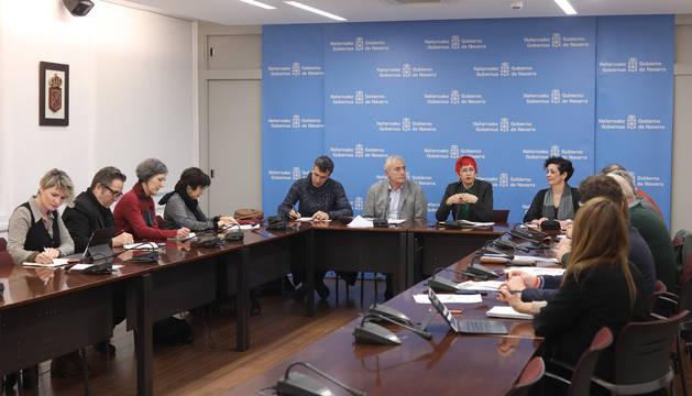 Reunión de la comisión interdepartamental que coordina el abordaje del coronavirus.