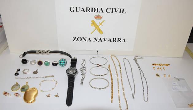 Detenida por robar joyas por valor de 38.000 euros en una vivienda de Corella