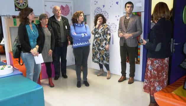 Visita de parlamentarios al Centro de Atención Integral a la Discapacidad (CAIDIS) Valle de Roncal.