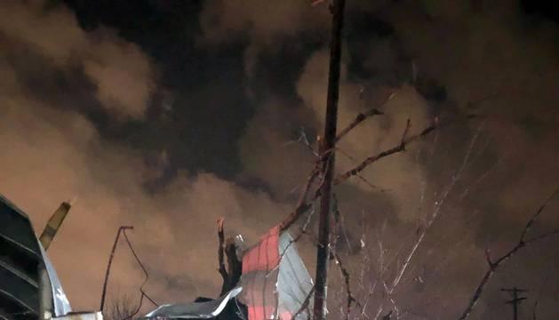 Fotos de la destrucción en Nashville por el paso de varios tornados