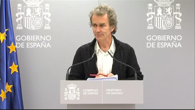 """Vídeo: Fernando Simón: """"Tres niños han dado positivo por coronavirus"""""""