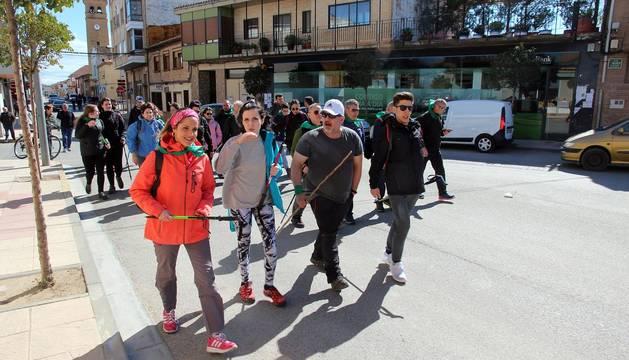 Fotos de la salida de la Javierada desde la Ribera