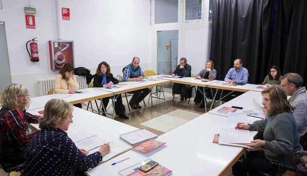 Primera sesión del VI Consejo Municipal de Cooperación Internacional al Desarrollo de Pamplona.