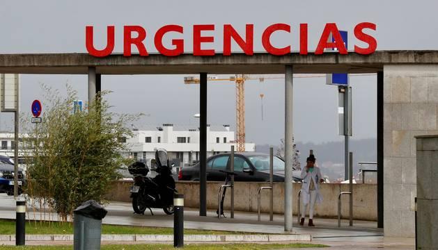 Foto de la entrada a Urgencias del Hospital Universitario Central de Asturias (HUCA), después de que la Consejería de Salud haya confirmado este jueves el quinto positivo por coronavirus en Asturias.