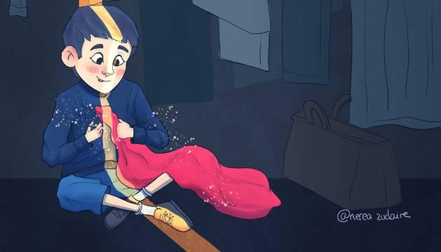 Ilustración de Nerea Zudaire.