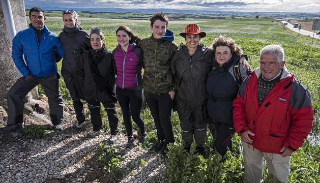 Los peregrinos que partieron de la merindad se enfrentaron a la meteorología y a las bajas temperaturas