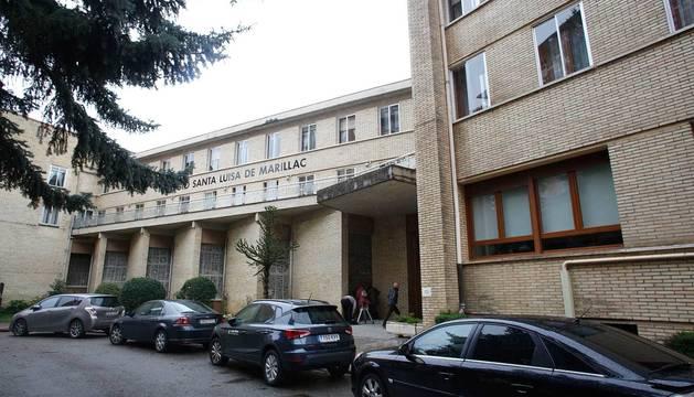 Colegio de Santa Luisa de Marillac en Barañáin.