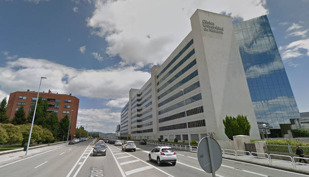 Foto de la avenida de Navarra, junto a la Clínica Universidad de Navarra.