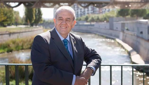 Foto de Andrés del Campo García, presidente de la Federación Nacional de Comunidades de Regantes.