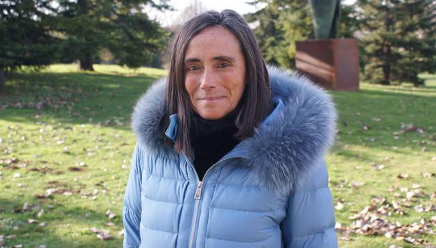 Foto de Soraya Leza, psicóloga del Servicio de Mediación Familiar del Gobierno Vasco.