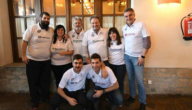 Foto de los semifinalistas de mus: Schneider, Fluitecnik, Zabala y Knorr.