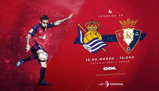 Imagen del sorteo de entradas para el Real Sociedad-Osasuna.