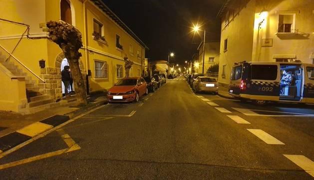 Una patrulla de la Policía Municipal de Pamplona