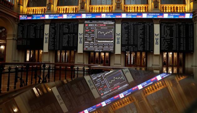 La Bolsa española rebota el 1,39% tras su peor sesión desde 2016