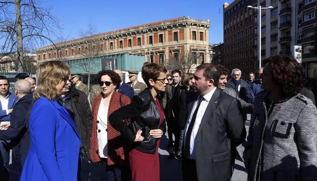 Imágenes del acto institucional de homenaje a las víctimas del terrorismo.