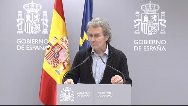 """Fernando Simón: """"En Madrid los hospitales están en una situación complicada, con los recursos ajustados y hay que tener cuidado con su uso"""""""