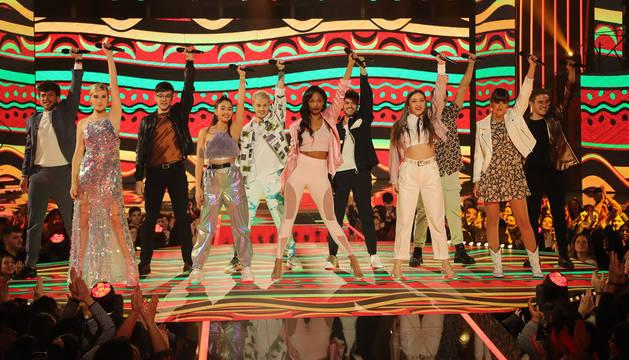 foto de Actuación grupal en la gala 7 de Operación Triunfo