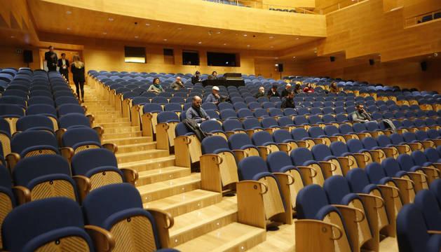Foto del Teatro Universidad de Navarra.