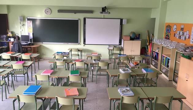 Colegio público de Ermitagaña.