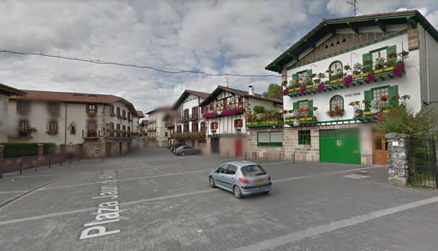 Foto de la plaza Juan de Alzate de Bera.
