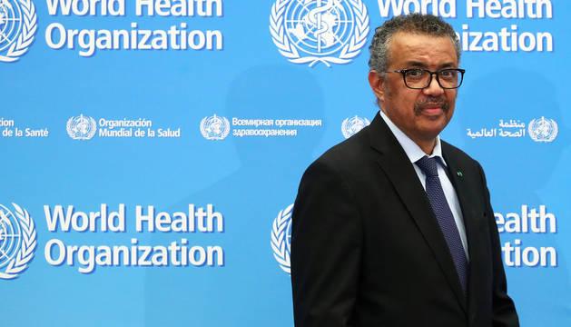 Tedros Adhanom Ghebreyesus, secretario general de la Organización Mundial de la Salud.