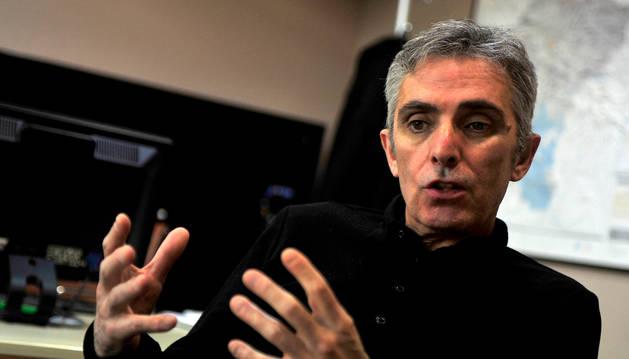 Foto de Javier Santafé, el nuevo gerente del Consejo Regulador de la Denominación de Origen Navarra.