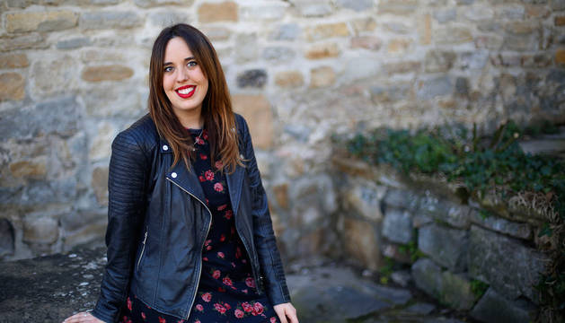 Saioa Cuenca, bioquímica, estudiante de Musicología y guitarra, y gerente de la Joven Orquesta de Pamplona.
