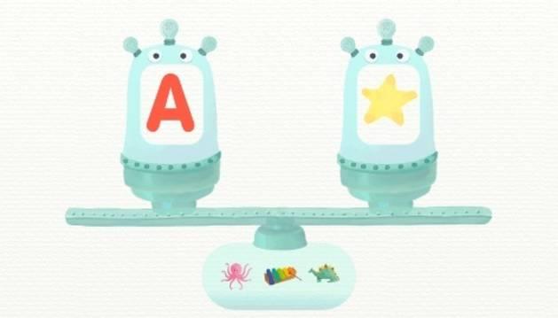 Alfamonstruo, una app educativa para aprender las letras
