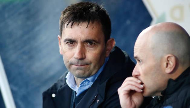 Asier Garitano, entrenador del Alavés.