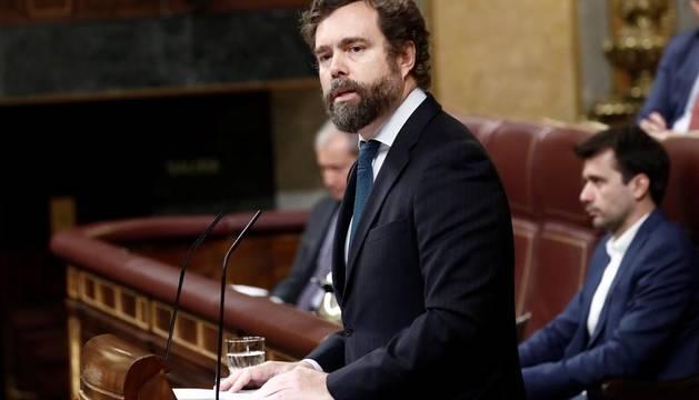 Iván Espinosa de los Monteros, en el Congreso de los Diputados.