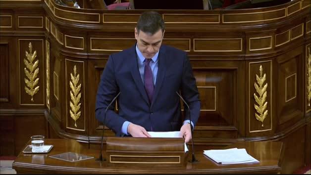 """Sánchez: """"Presentaré un presupuesto de reconstrucción económica y social después de la crisis"""""""